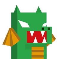 Binary Dash Dragon Player Skin